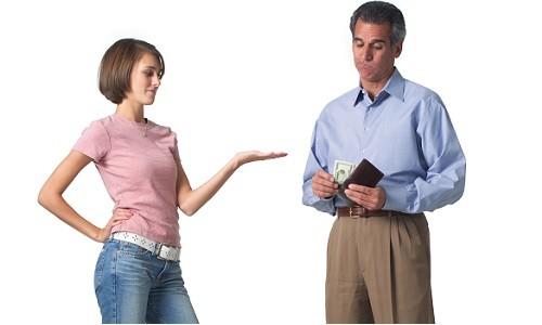 Взыскание алиментов с неработающего отца