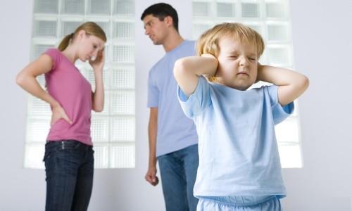Развод в семье с ребенком