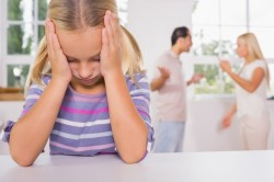 Ссоры в семье с ребенком