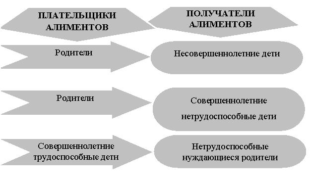 права плательщика алиментов